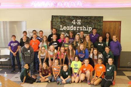 4-H Leadership Bootcamp 2015